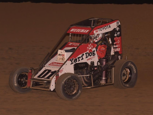 Bryant Wiedeman Rode the Top Side to Claim First Career POWRi Win