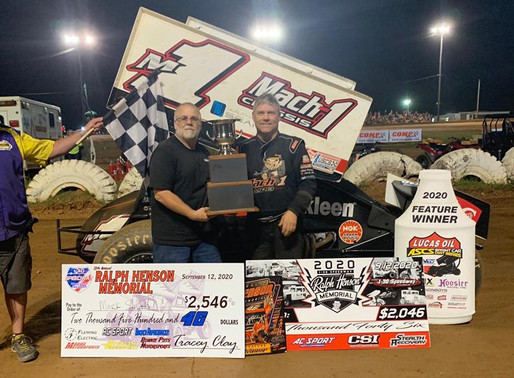 Mark Smith Takes Henson Memorial Win At I-30 Speedway With ASCS Mid-South