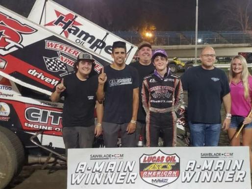 Ryan Timms Wins A Wild One At Riverside International Speedway