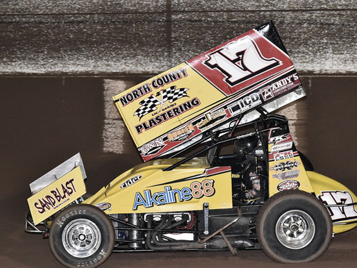 Justin Sanders Unstoppable At Arizona Speedway ASCS Southwest Copper Classic
