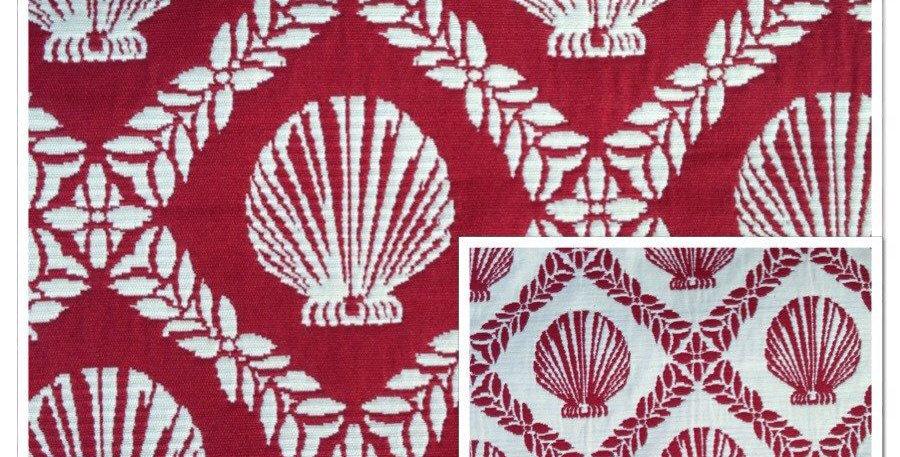 Reversible Shells Fabric