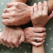 Mam, Daughter, Son, grandaughter.