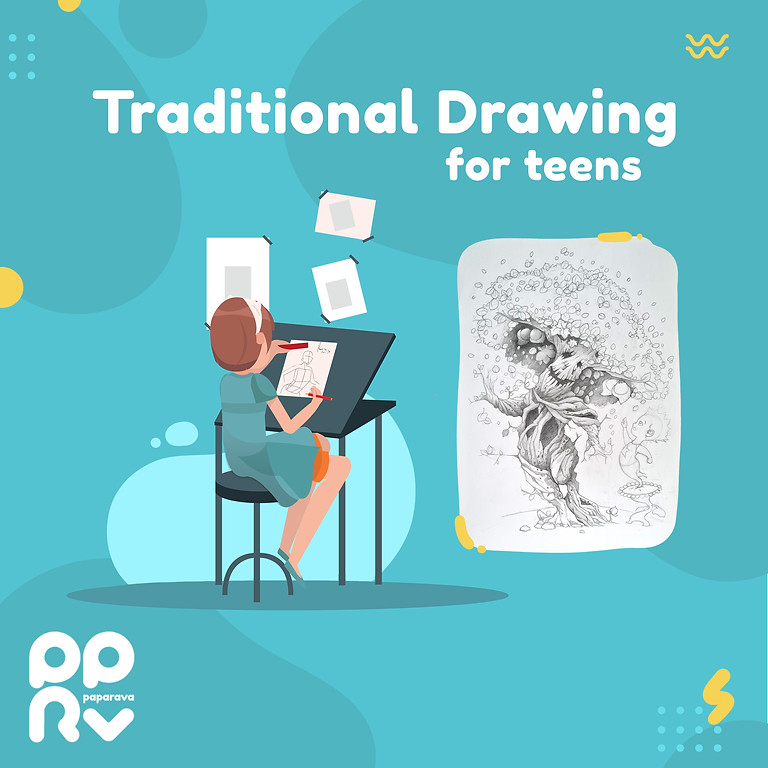 Traditional Drawing for Teens