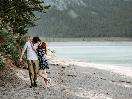 Take me to the Mountains- Sara & Thomas - Calgary Engagement Photographer