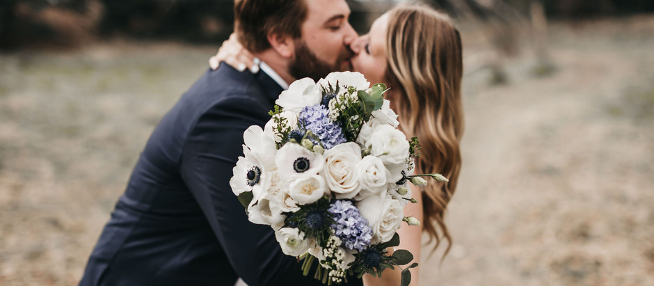 Featured - Jenna & Cullen's Real Wedding - Foxtail Floral Designs