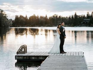 Romantic Lakehouse Wedding - Erin & Cory - Calgary Wedding Photographer