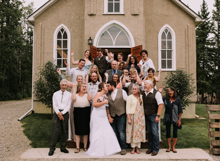 Featured - Nick & Sarah's Real Wedding - Water Valley Church Events