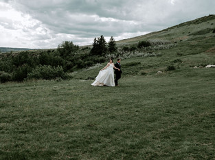 Cochrane Ranch House Wedding - Chelsey & Jack - Calgary Wedding Photographer