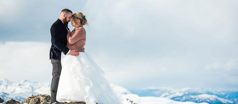 Mt. Begbie Revelstoke First Look - Erin Shepley Photography