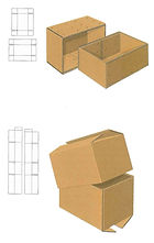 DST FTC HSC box corrugated cardboard
