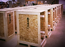 production wood crates export crates pallets
