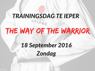 Trainingsdag te Ieper