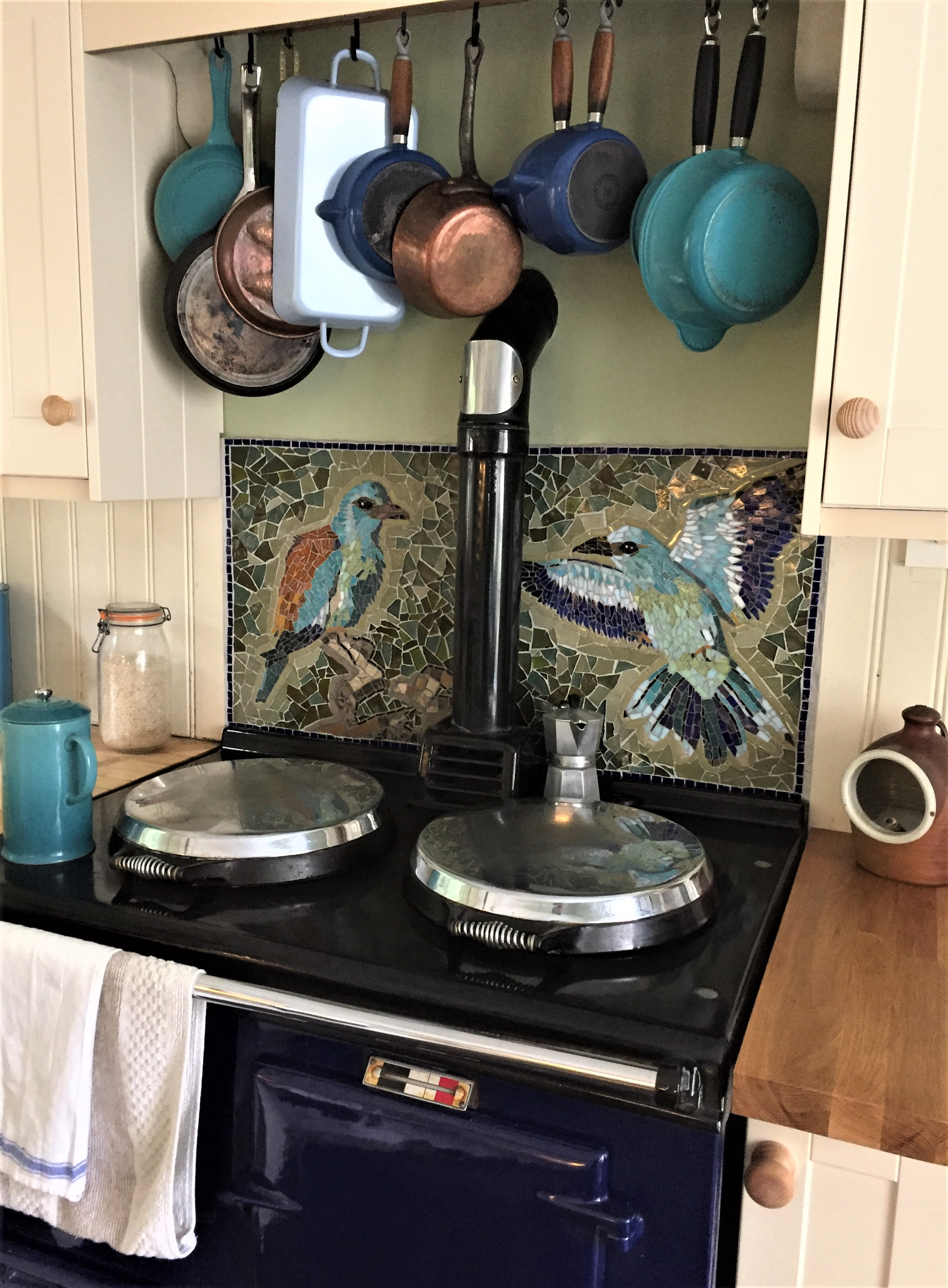 European Roller Birds, AGA panel