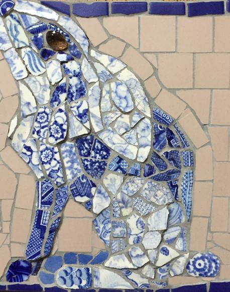 Marian's broken china hare