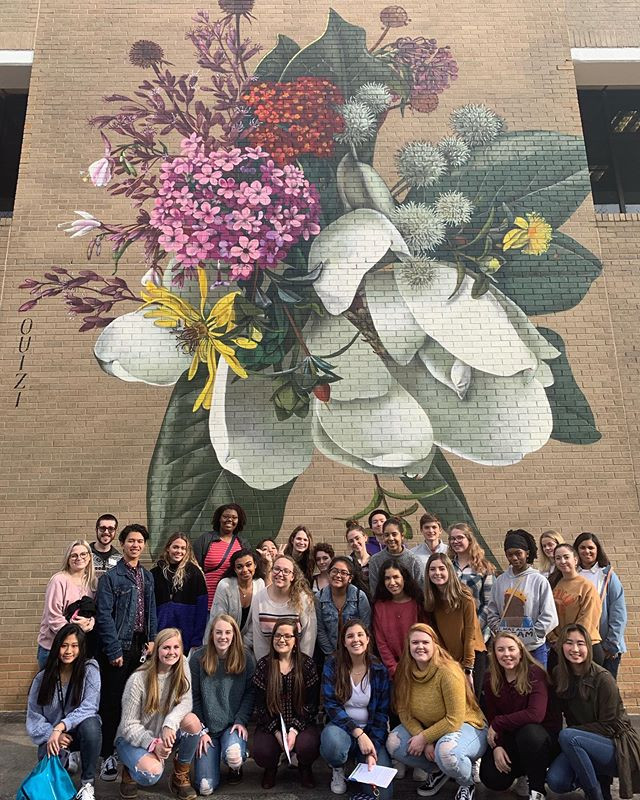 AP Art and Spanish Classes at the NCMA!.