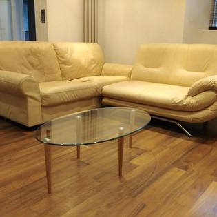 Upcycled ikea coffee table