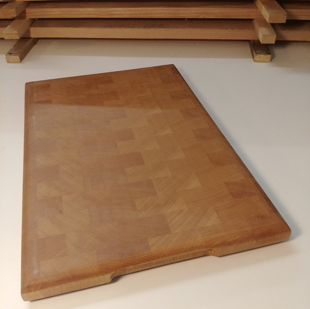 Butchers block chopping board