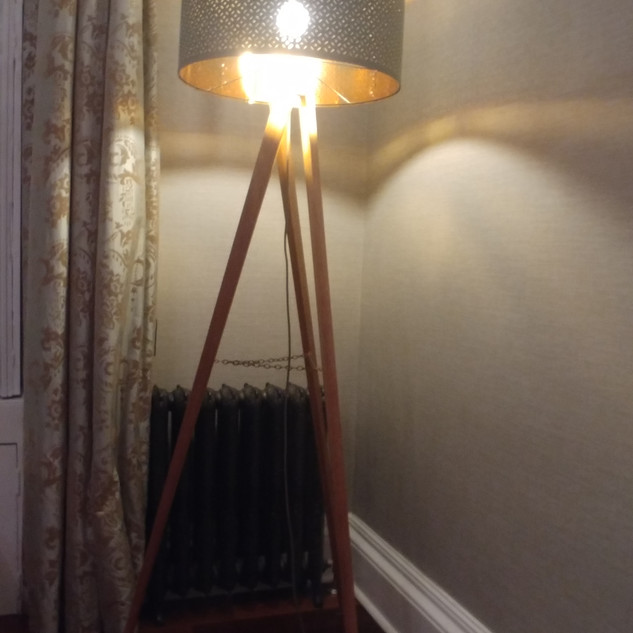 Custom standing light
