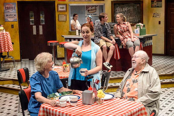 A Scene from Betty's Diner
