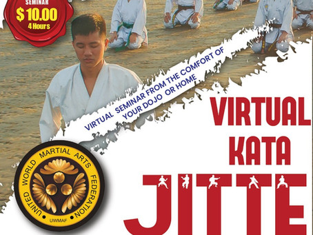 2nd UWMAF Virtual Kata Seminar - Jitte
