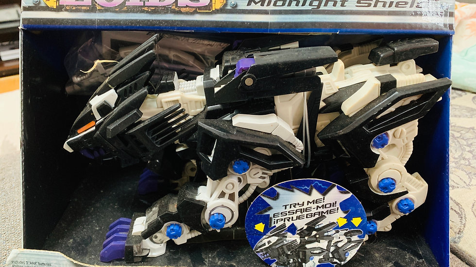 ZOIDS Liger Zero Midnight Shield Large Action Figure NEW IN BOX
