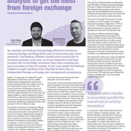 In the media: Using transaction cost analysis to get the most from foreign exchange