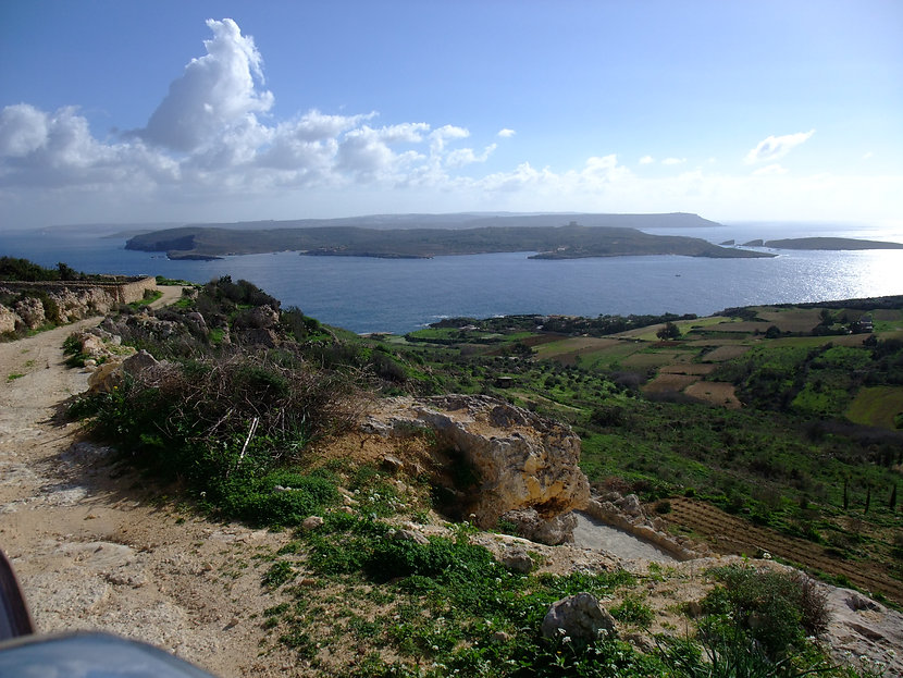 Comino from above Hondoq.JPG