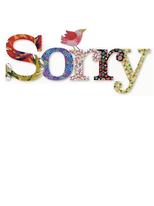 Sorry | Card