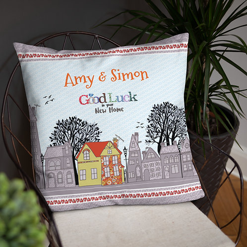 New Home (Personalised) | Throw Cushion