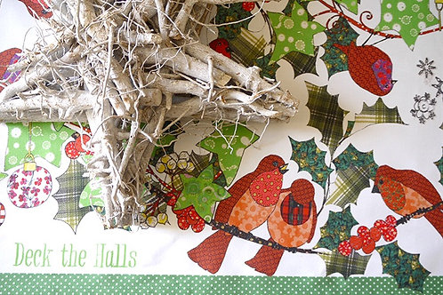 Holly and Ivy | Runner • Napkins • Tea Towel