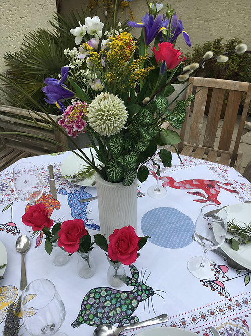 Flick of Hares  | Tablecloth