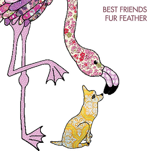 Best Friends Fur Feather | Card