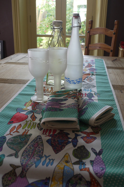 Something Fishy  | Table Runner
