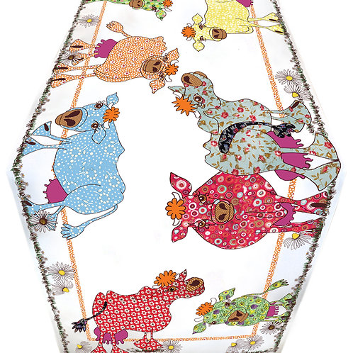 Seconds | Blooming Lovely CowGirls  | Table Runner