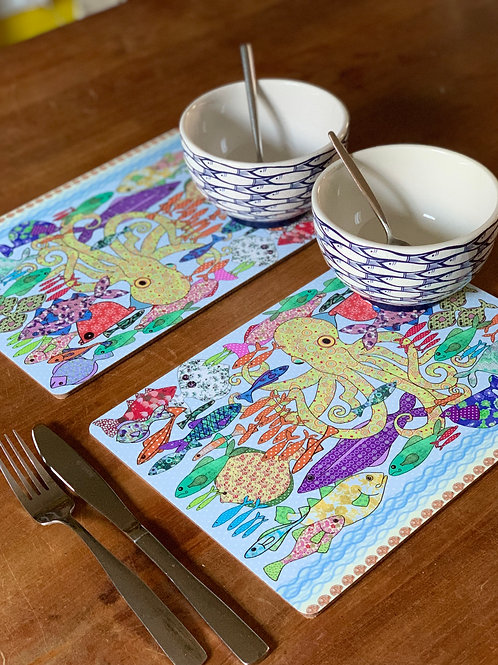 Something Fishy | Placemats