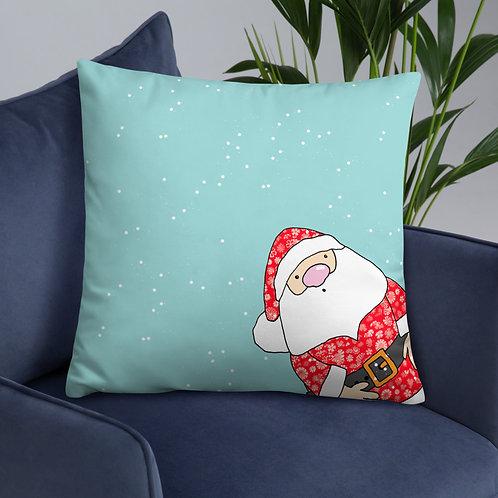 Father Christmas | Throw Cushion