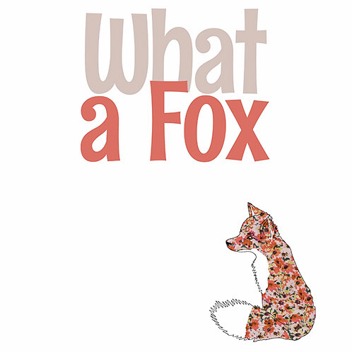 What a Fox | Card