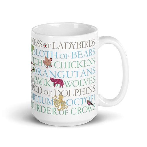 Animal Collective Nouns | Mug