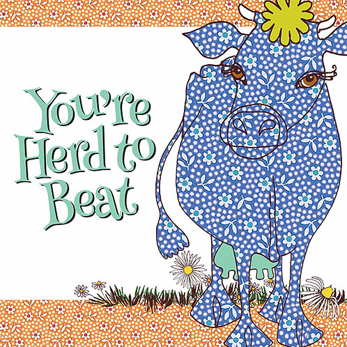 You're Herd to Beat | Card