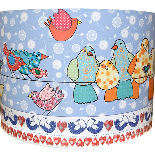 Birds on a Wire | Lampshade
