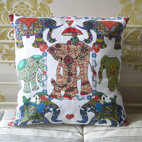 Elephant Parade  | Cushion