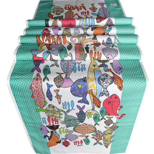 Something Fishy    Table Runner   Seconds