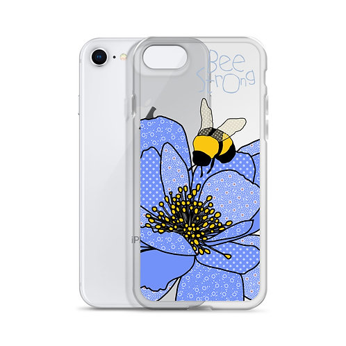 Bee Strong Peony | iPhone Case