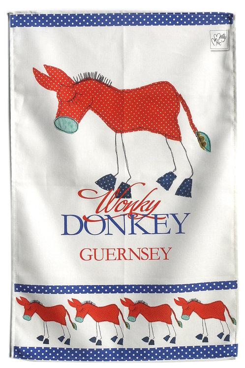 Wonky Donkey Guernsey | Tea towel