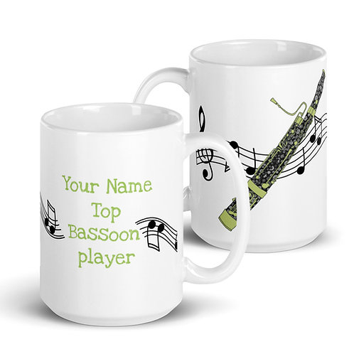 Bassoon Mug | Personalised |