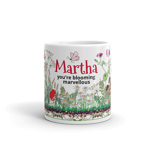 Blooming Marvellous (Personalised) | Mug