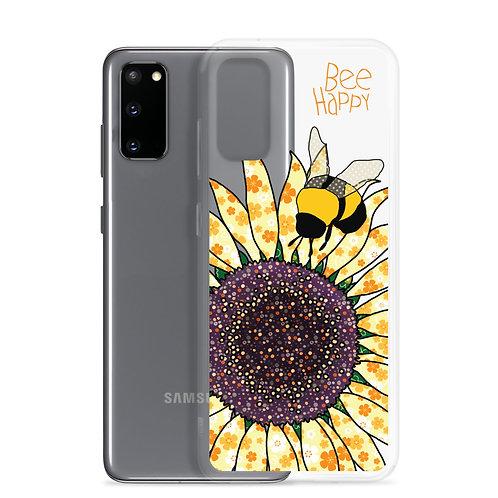 Bee Happy Sunflower | Samsung Case | 20 20 Plus 20 Ultra