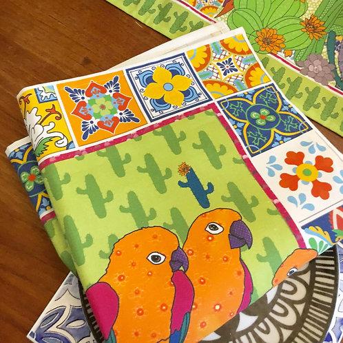Cactus Parrots  | Napkins (2)