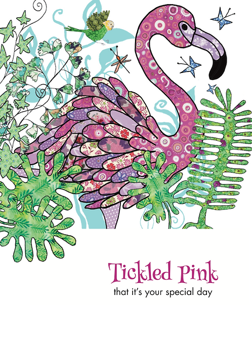 Tickled Pink It's your special day | Card