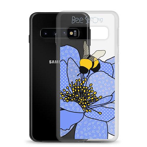 Bee Strong Peony | Samsung Case | 10 10+ 10e